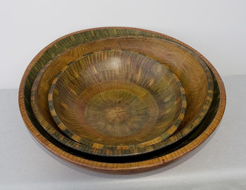 grain painted bowls , see our current gallery for details